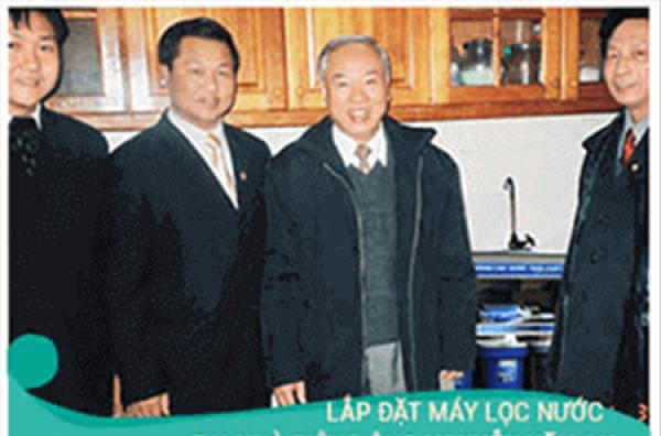 Chủ tịch nước tặng bằng sáng chế sản phẩm tiểu 915H của HTECH