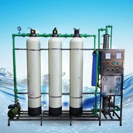 Dây chuyền lọc nước tinh khiết R.O công suất 500L