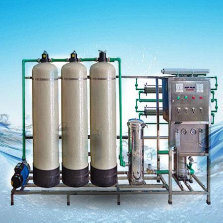 Dây chuyền lọc nước tinh khiết công suất 750L