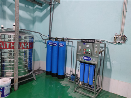 Dây chuyền lọc nước tinh khiết R.O công suất 250L