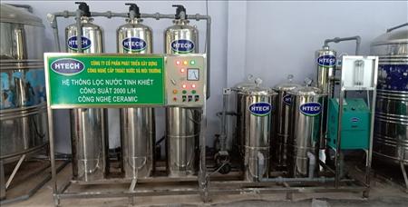 Dây chuyền sản xuất nước SKYTECH CERAMIC công suất 2000L/H