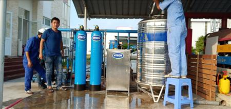 Dây chuyền sản xuất nước SKYTECH CERAMIC công suất 200L/H