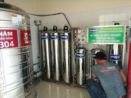 Dây chuyền sản xuất nước SKYTECH CERAMIC công suất 500L/H