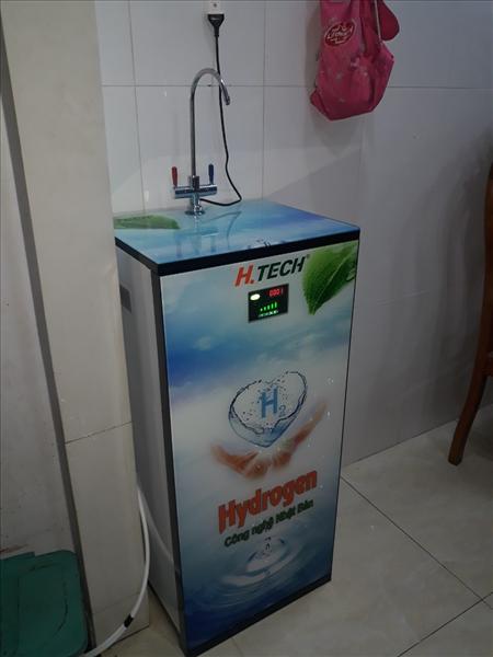 Máy lọc nước hydrogen RO:HT-916H ( Tủ Kính 3D )