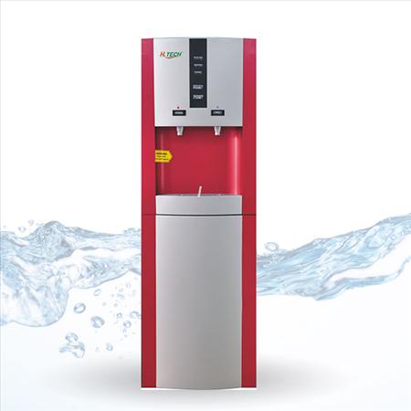 Máy lọc nước nóng lạnh 16LD 2 in 1 màu đỏ