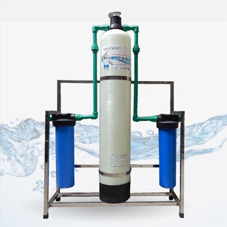Thiết bị xử lý nước nhiễm đá vôi 1m3/h
