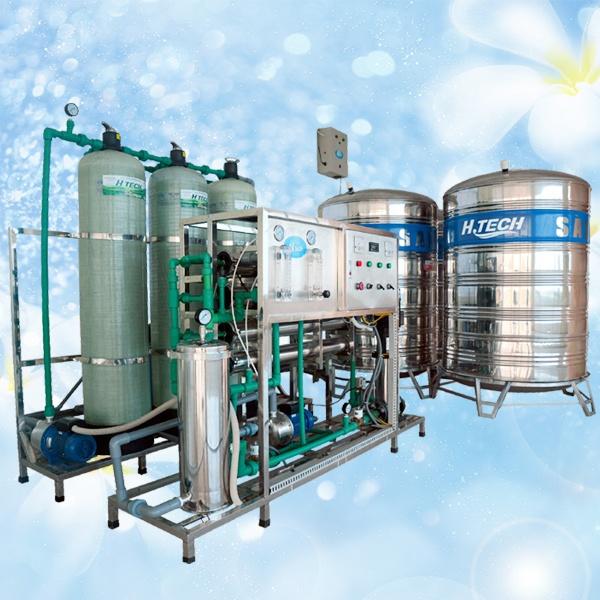 Dây chuyền lọc nước tinh khiết R.O công suất 1500L