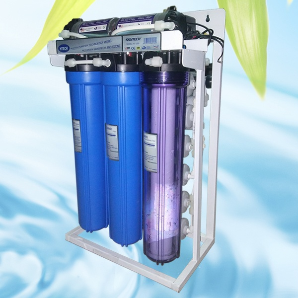 Máy lọc nước Htech RO 300G công suất 50 lít/h
